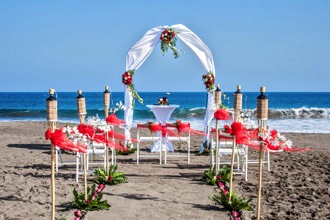beach wedding spain canary island