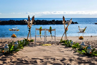beach weddings abroad canary islands