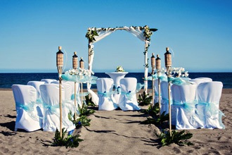 blue beach wedding tenerife