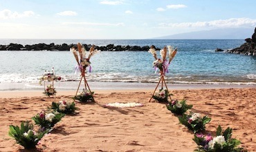 Married on a beach venue in Tenerife