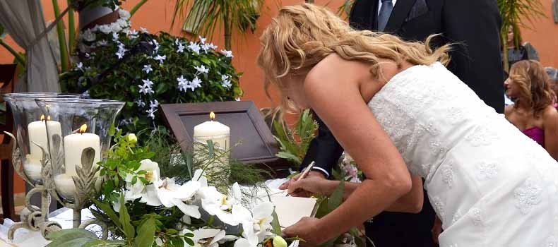 Spanish wedding tenerife
