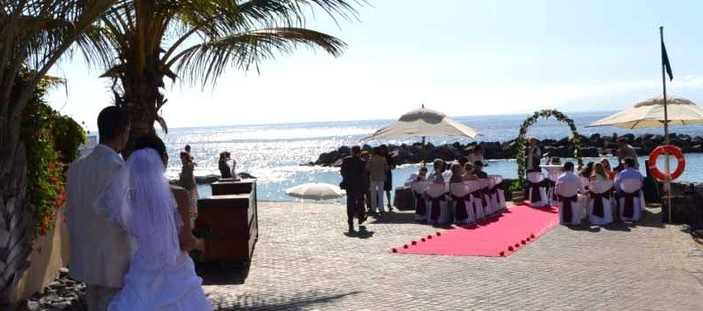 Tenerife Spain Canary Islands Wedding