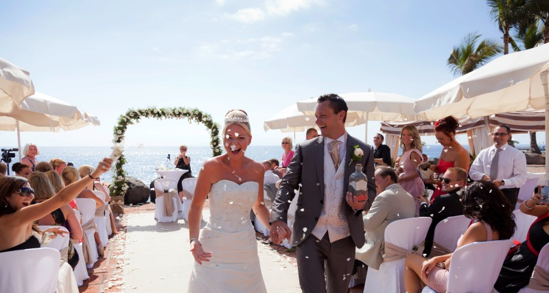 Dream Ceremony With Delicious Reception Meal And Amazing