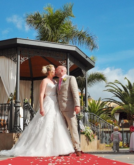 Gazebo Wedding Tenerife