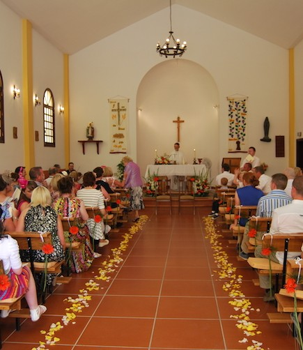 Irish curch wedding - My perfect wedding in Tenerife (18)