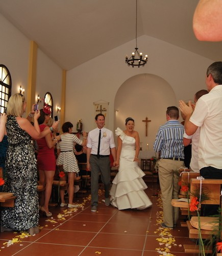Irish curch wedding - My perfect wedding in Tenerife (342)