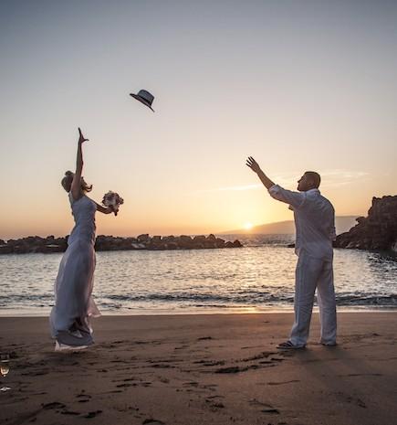 Romantische Strandhochzeit auf Teneriffa (69)