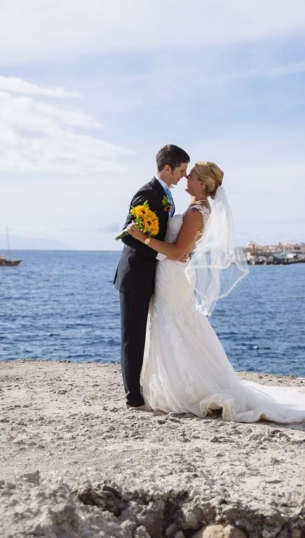 Romance at Los Cristianos Beach