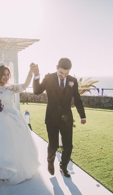 Romantic wedding Tenerife