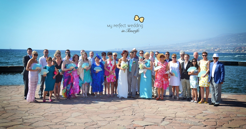 Wonderful Seafront Wedding Ceremony In Canary Islands