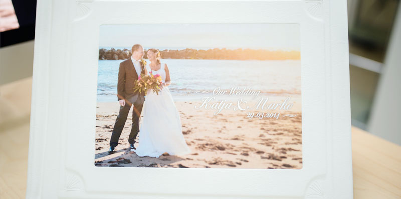 Wedding Photo Album in Tenerife