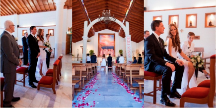 Beautiful Church wedding in Tenerife