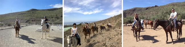 horseback riding Tenerife