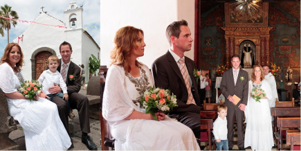 Tenerife Church Wedding