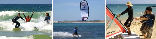 tenerife surf windsurf and kitesurf
