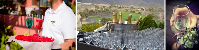 Tenerife wedding catering / reception meal tenerife / banquet