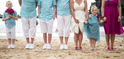 Family in Wedding Tenerife