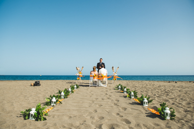 Wedding at The Beach Tenerife
