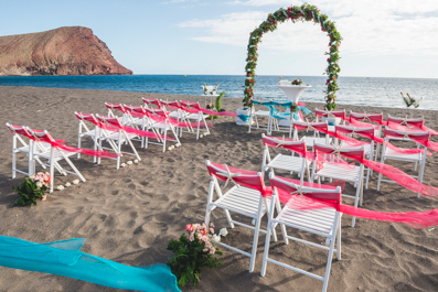Beautiful Beach Wedding Spain