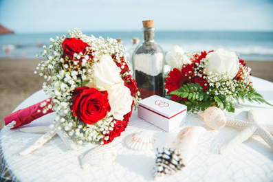 Flower Bouquet for Beach Wedding Tenerife