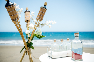 Beautiful Beach Wedding Deco