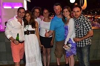 partying-in-tenerife-wedding