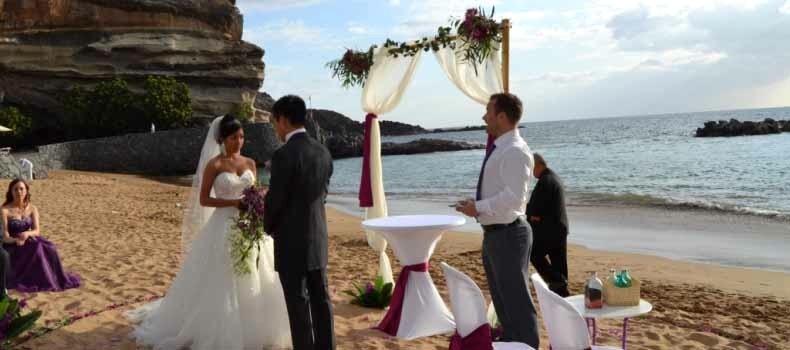 Wedding services tenerife
