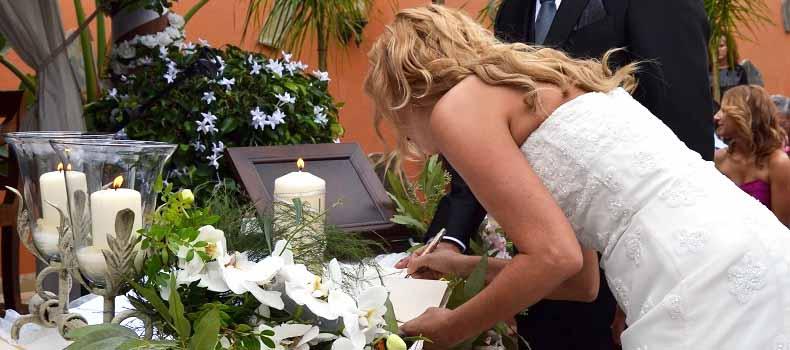 Spanish wedding tenerife