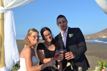 wedding planners abroad in tenerife