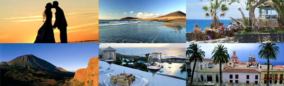 Hochzeit auf Teneriffa, kanarische Inseln