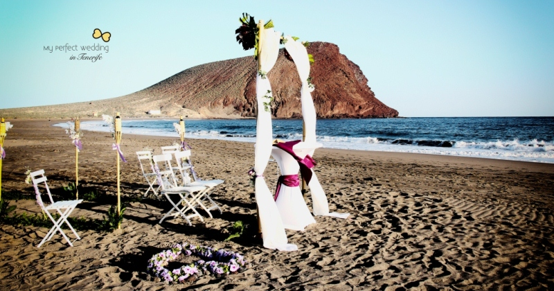 Marriage Proposal Beach Wedding In Tenerife